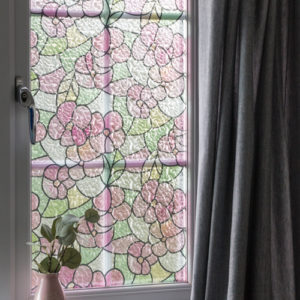 45cm x 1.5m dc fix LISBOA SUMMER static cling vinyl window privacy film (338-0017)