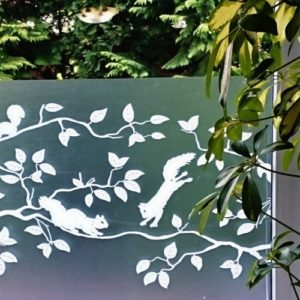 45cm x 1.5m dc fix PINEVIEW premium static cling vinyl window privacy film (334-0031)