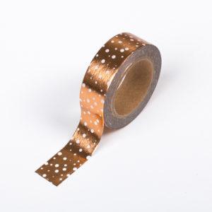 15mm x 10m COPPER GALAXY washi tape for crafts & home décor (CYW0212)