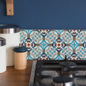 15cm x 15cm LARGE MOROCCAN C tile stickers for decor (CYW15T19)