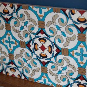 15cm x 15cm LARGE MOROCCAN C tile stickers for décor (CYW15T19)