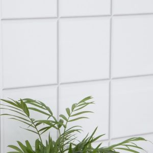 45cm x 1m up to 15m dc fix VIGO PLAIN WHITE TILES sticky back plastic vinyl wrap film (200-2564)