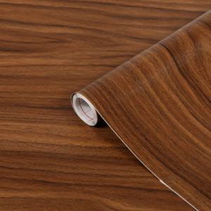 67.5cm x 1m up to 15m dc fix WALNUT MEDIUM sticky back plastic vinyl wrap film (200-8024)