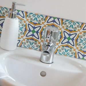15cm x 15cm LARGE MOROCCAN B tile stickers for décor (CYW15T18)