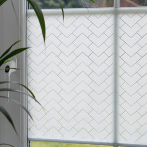 45cm x 1.5m dc fix CHESTER premium static cling vinyl window privacy film (334-0047)