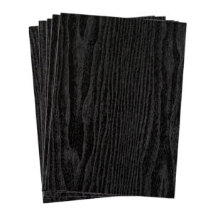 A4 dc fix BLACKWOOD self adhesive vinyl craft pack