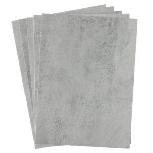 A4 dc fix CONCRETE GREY self adhesive vinyl craft pack