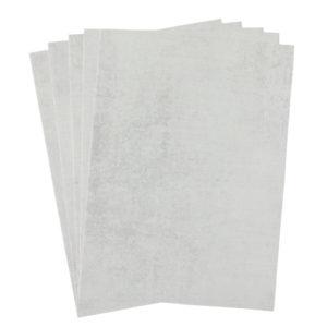 A4 dc fix CONCRETE WHITE self adhesive vinyl craft pack