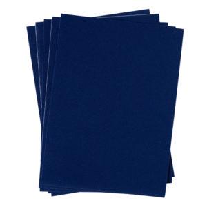 A4 dc fix FELT VELOUR BLUE self adhesive vinyl craft pack