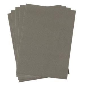 A4 dc fix FELT VELOUR GREY self adhesive vinyl craft pack