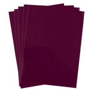 A4 dc fix GLOSSY BERRY self adhesive vinyl craft pack