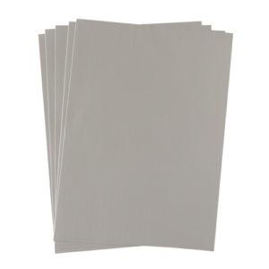 A4 dc fix GLOSSY GREY self adhesive vinyl craft pack