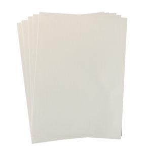 A4 dc fix GLOSSY LIGHT CREAM self adhesive vinyl craft pack
