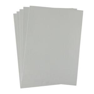 A4 dc fix GLOSSY LIGHT GREY self adhesive vinyl craft pack