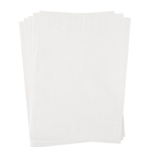 A4 dc fix GLOSSY WHITE self adhesive vinyl craft pack