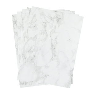 A4 dc fix MARBLE GREY self adhesive vinyl craft pack
