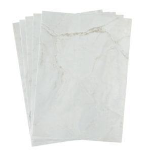 A4 dc fix MARBLE ROMEO MATT WHITE self adhesive vinyl craft pack