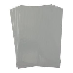 A4 dc fix MATT GREY self adhesive vinyl craft pack
