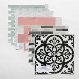 3D Tile Sticker Samples