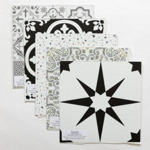 Peel and Stick Floor Tile Samples