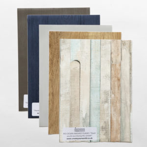 Sticky Back Plastic Wood Samples